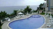 Furnished one-bedroom apartment with frontal sea view for sale in complex Silver Beach,  Byala,Bulgaria