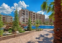 "Apartments for sale in the luxury complexes ""Cascadas"" Sunny Beach , Bulgaria"