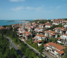 "Two-bedroom furnished apartment for sale with sea view in ""Santa Marina"" complex, Sozopol, Bulgaria"