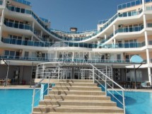 We sell furnished studio on the first sea line in Ravda, Bulgaria