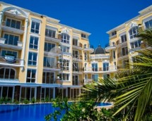 One-bedroom apartment for sale in Bulgaria in Sunny Beach in the complex Messembria Palace