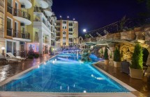 One-bedroom apartment for sale in Bulgaria in Sunny Beach in the luxury complex Sweet Homes 2