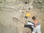 Archaeologists exploring the Roman city near Pomorie